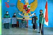 Mahasiswa STISS Ciptakan Pancasila Raksasa Sambut HUT RI ke-76