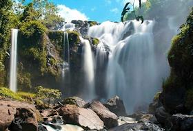 Jelajah Nusantara : Curup gangsa, air terjun penuh keajaiban