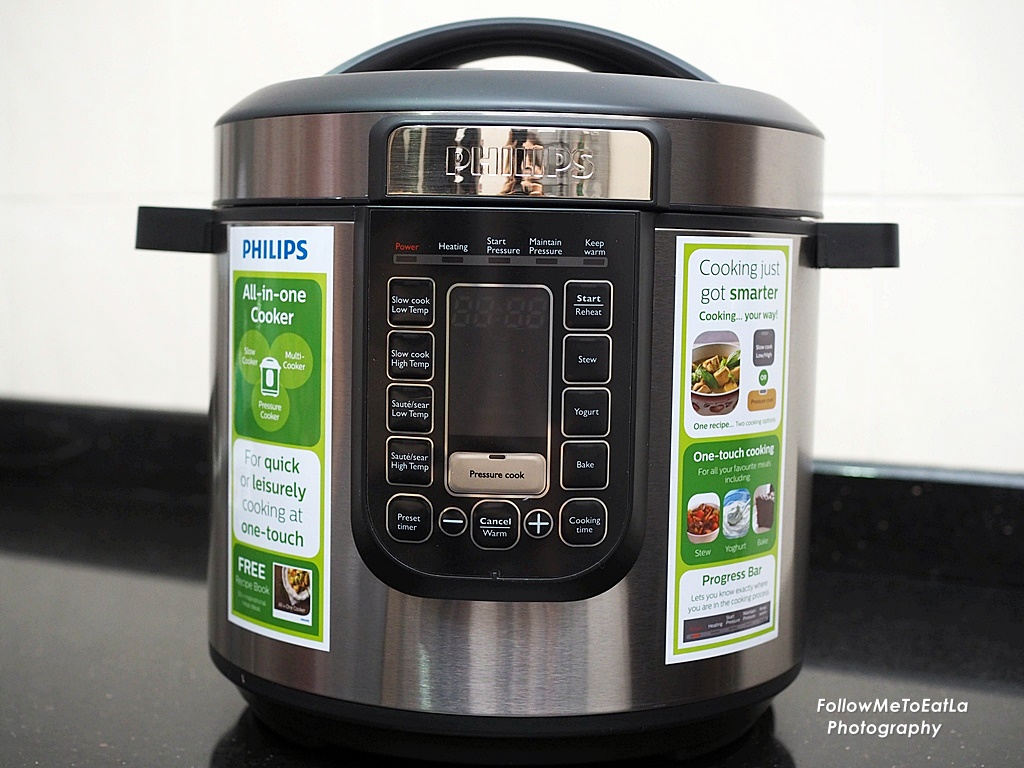 philips pressure cooker how to use