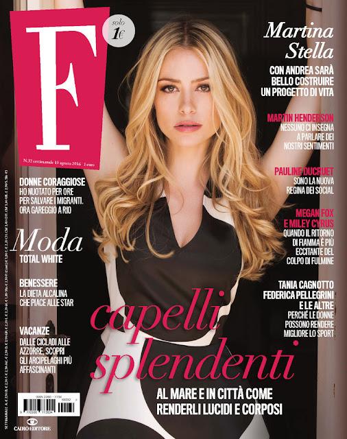Actress, @ Martina Stella - F Magazine, August 2016