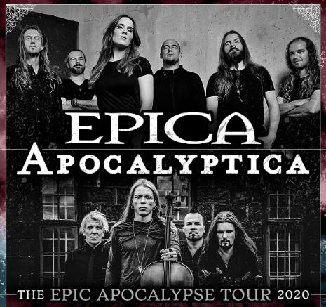 Epica e Apocalyptica juntos em Portugal