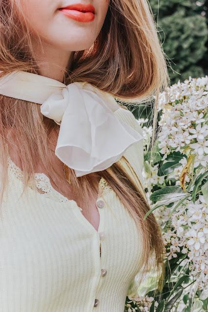 H&M tied neck sun hat 2020