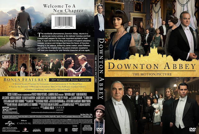 Downton Abbey The Motion Picture DVD Cover