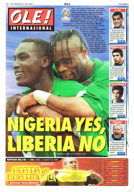 TARIBO WEST NIGERIA YES, LIBERIA NO