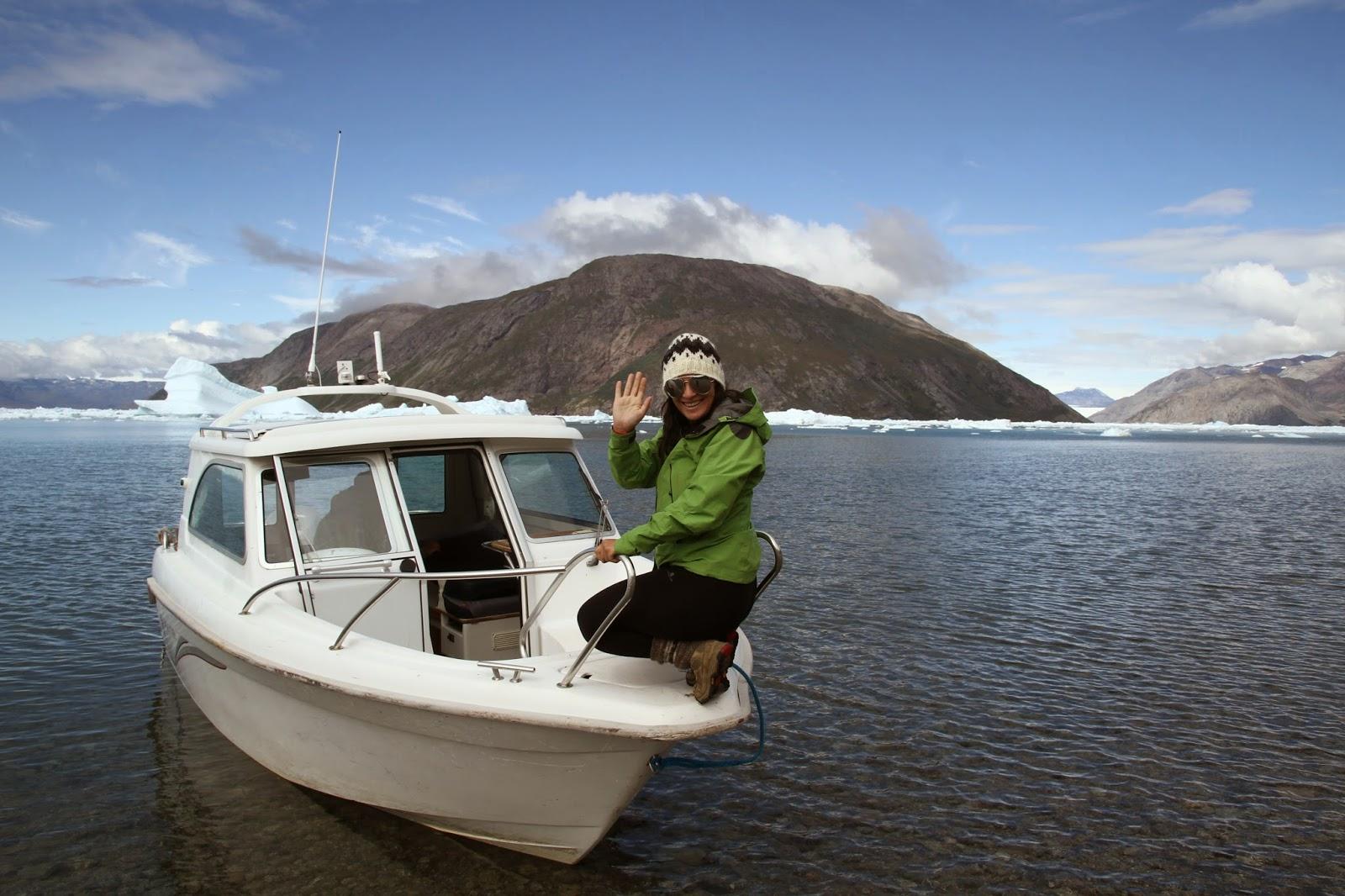 TREKKING NA GRONELÂNDIA - 3º dia: Do Blue Ice Camp a Qassiarsuk e Tasiusaq