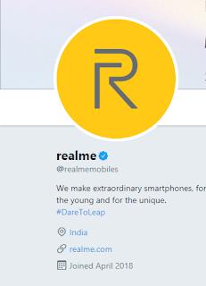 Realme Twitter