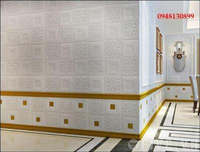 Địa chỉ bán xốp dán tường tại tphcm