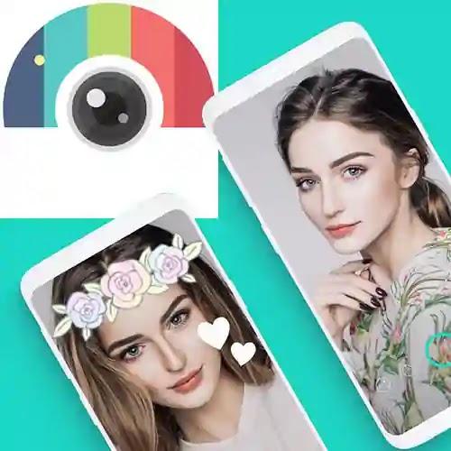Candy Camera for Selfie تطبيق رائع لتحرير الصور وإضافة التأثيرات من استوديو JP BrothersInc لأجهزة الأندرويد الإصدار مجاني 100٪ على Google Play