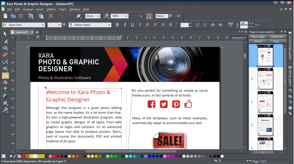Xara Photo & Graphic Designer 15.0.0 Crack ~ Urdu Tuts Master