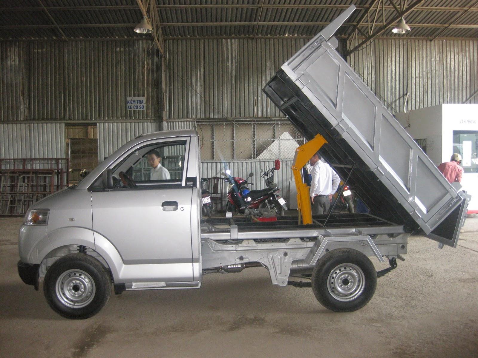 xe tải suzuki ben