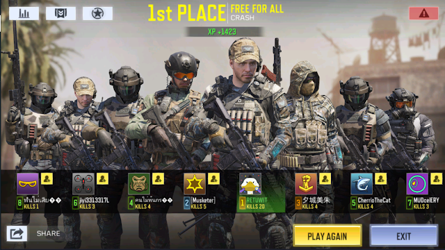 Mode Terbaru Call Of Duty Mobile Garena Free For All