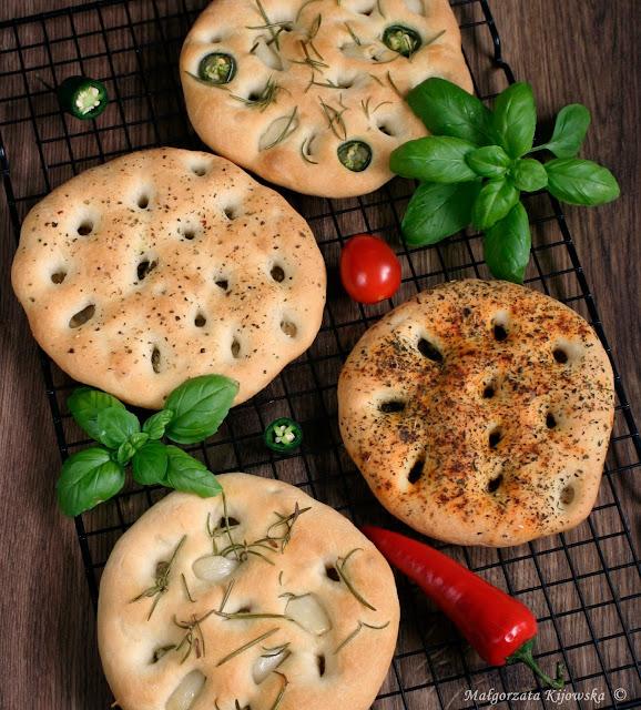 włoskie pieczywo drożdżowe, pizza inaczej