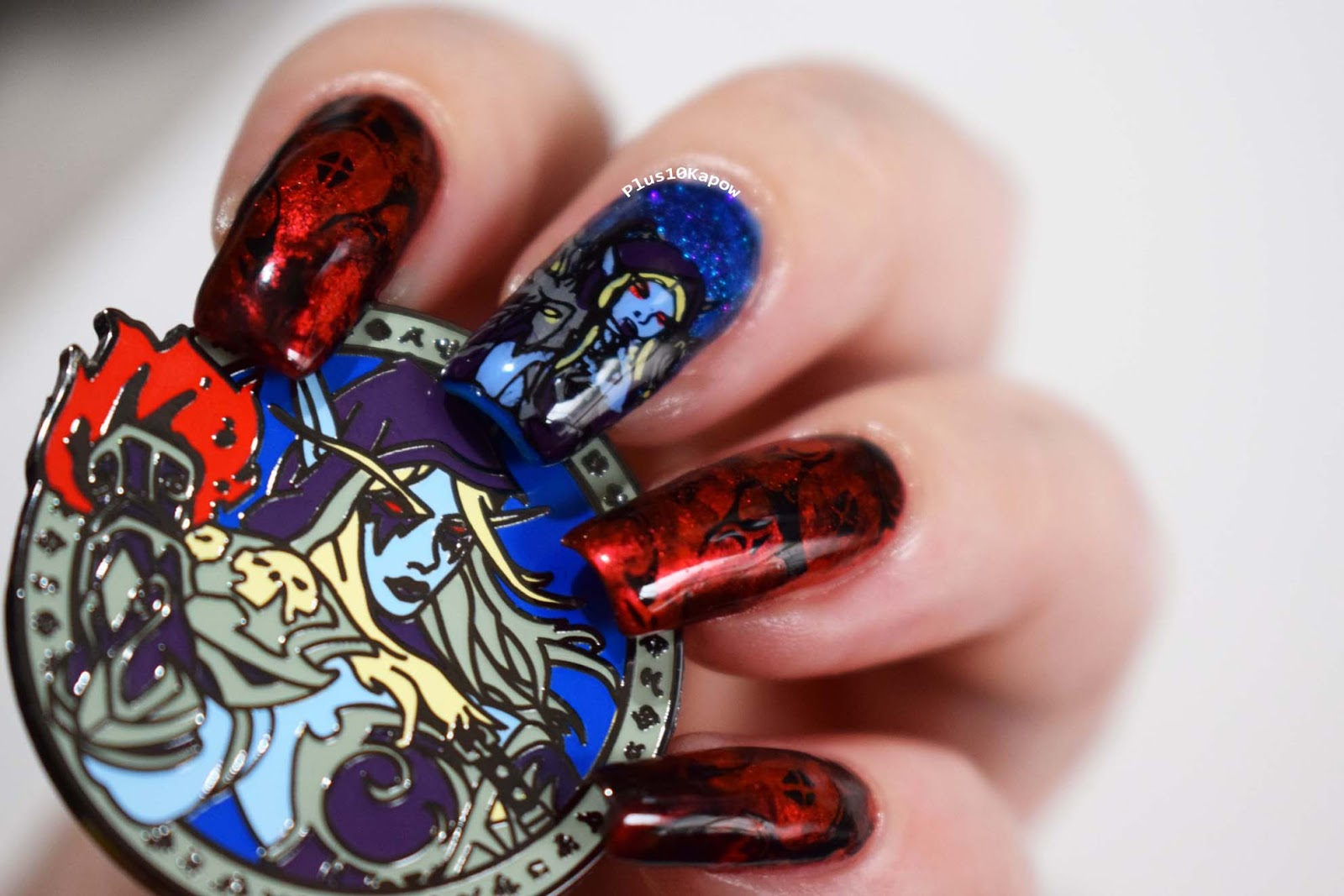 For The Horde Nails Inspired By Loot Pins