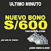Bono de 600 soles, información detallada