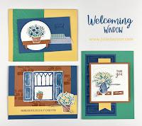 Stampin' Up! Welcoming Window Card Kit ~ www.juliedavison.com #stampinup January-June 2021 Mini Catalog