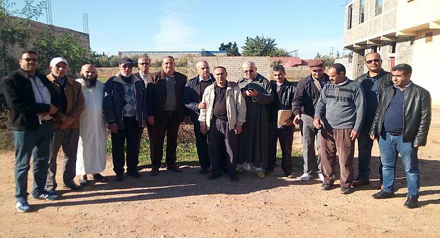 """تارودانت..دواوير جماعة سيدي بوموسى تستفيد من 9 كلم من الطرق المعبدة و """"الكوري"""" يعد ببرمجة مشاريع للدواوير الغير مستفيدة"""