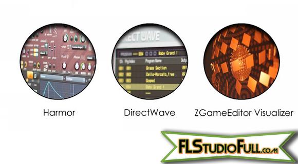 FL Studio 11 - Atualização de Plugins - Harmor, DirectWave, ZGameEditor Visualizer