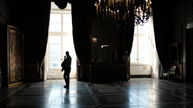 Napoli, le sale del Palazzo Reale. Fotografia con la Fuji X-T2