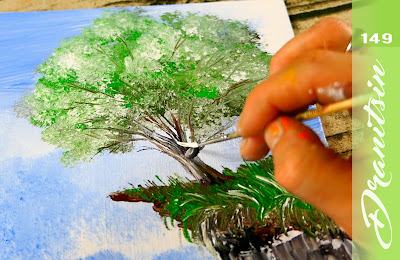 Exclusive Art Video The Highest Point Easy Acrylic