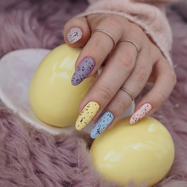 paznokcie pastelowe
