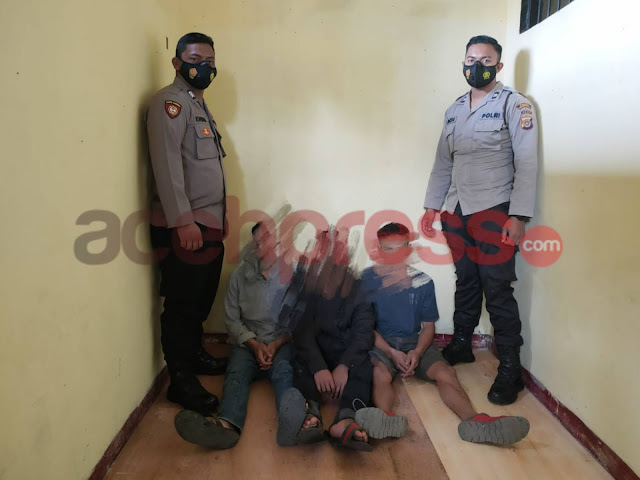 Polisi Tahan 3 Orang Pelaku Diduga Perkosa Anak di Bawah Umur di Bener Meriah