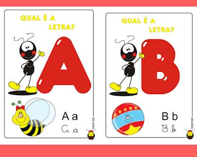Alfabeto ilustrado smiliguido