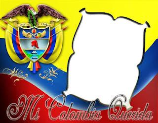 Hermoso marco para fotos de Colombia