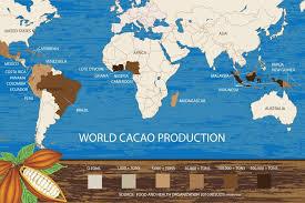 Valentine nghĩ về nền nông nghiệp ngọt ngào từ cây Cacao
