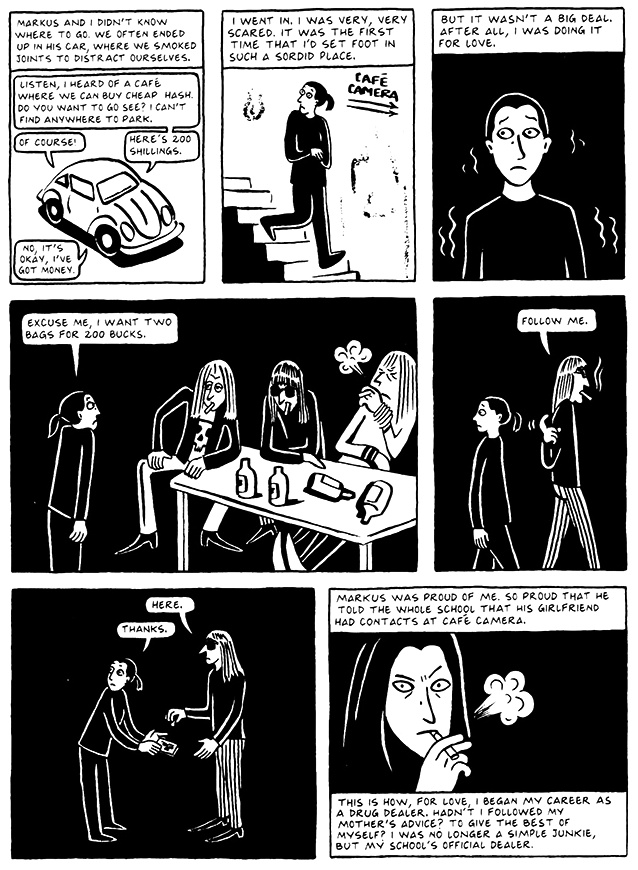 Read Chapter 7 - Hide and Seek, page 68, from Marjane Satrapi's Persepolis 2 - The Story of a Return