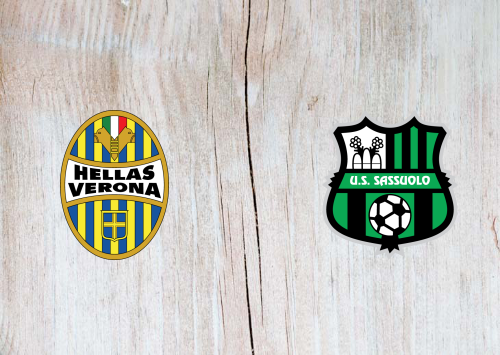 Hellas Verona vs Sassuolo -Highlights 25 October 2019
