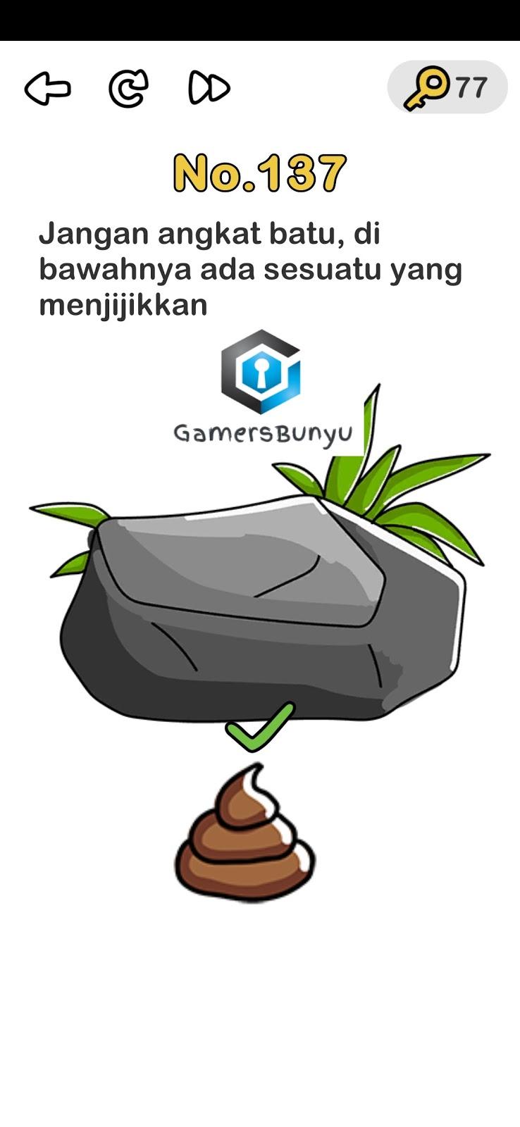 Jawaban Brain Out Level 131 132 133 134 135 136 137 138 139 140 Gamers Bunyu