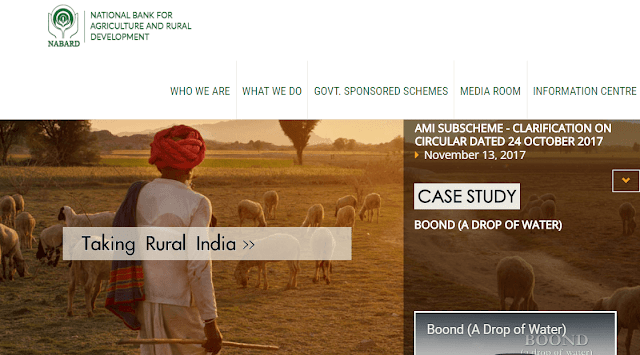 National Bank for agricultural and rural development(NABARD)