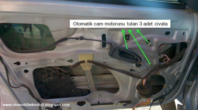 Otomatik Cam A 231 ılmıyor Resimli Anlatım Kapı İ 231