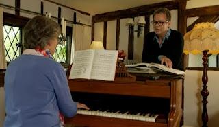 Dee Hart Dyke Playing the piano
