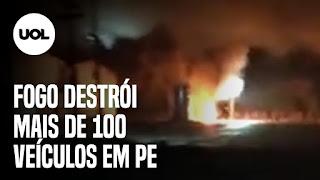 Incêndio destrói mais de 100 veículos – Armênia e Azerbaijão declaram 'trégua humanitária'  – caminhoneiros vão às ruas em apoio ao governo de Alberto Fernández