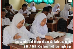 Download Rpp dan Silabus Btq SD / MI Kelas 1-6 Lengkap