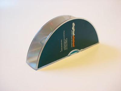 Porta guardanapos de CDs