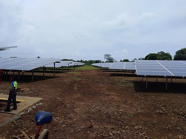Planta de Energia Solar en Corn Island