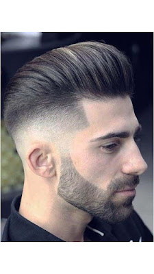 تصفيفة شعر شبابي رائعة، حلاق شعر رجالى
