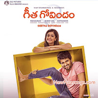 Githa govindam  First look, Posters, Stills, Gallery, Images, Audio CD Covers