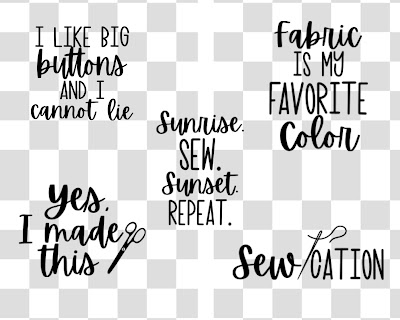 sewing quotes svg