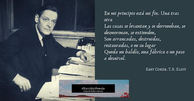 #RetoPoético2020 T.S. Eliot, Cuatro cuartetos