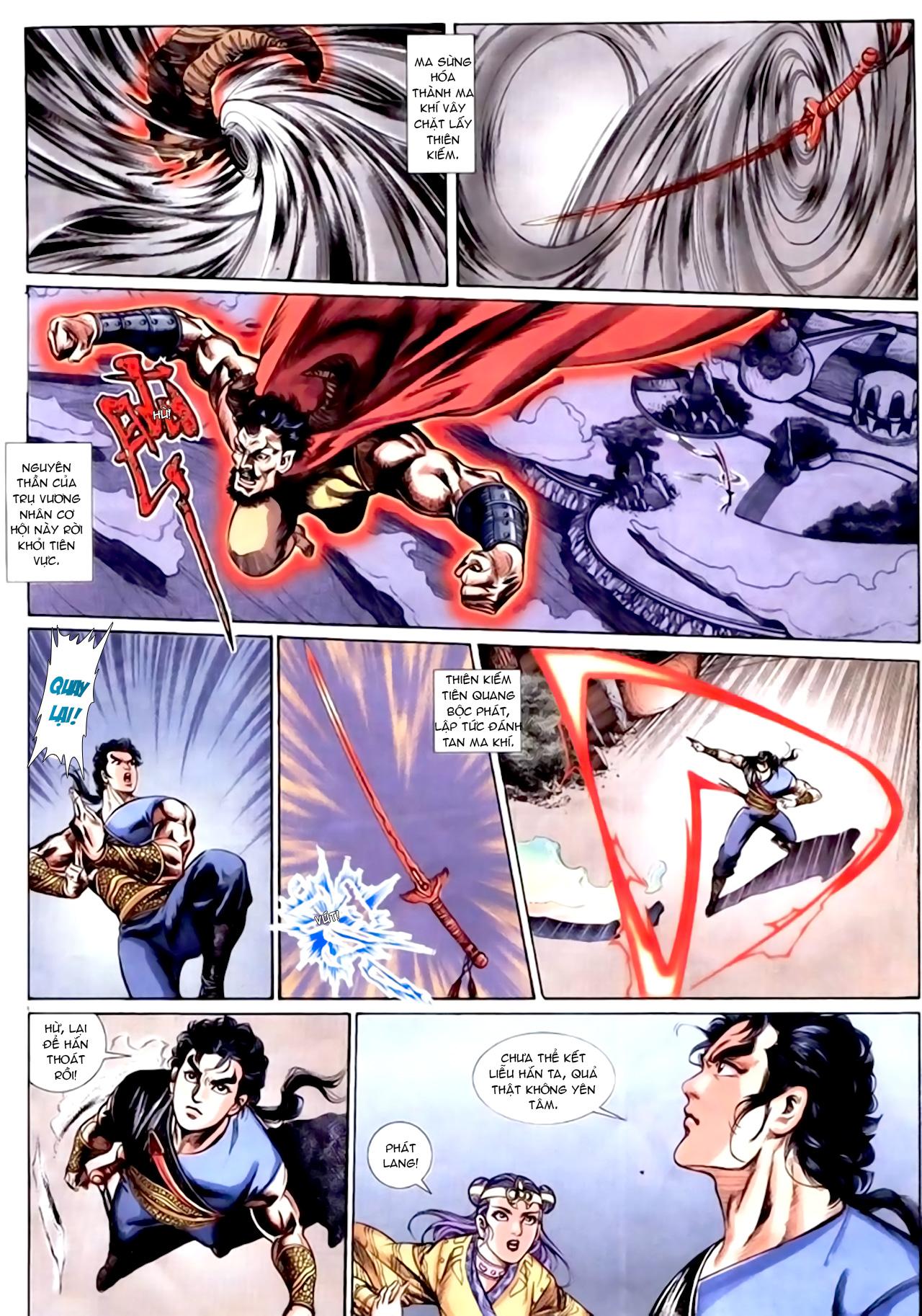 Cơ Phát Khai Chu Bản chapter 154 trang 10