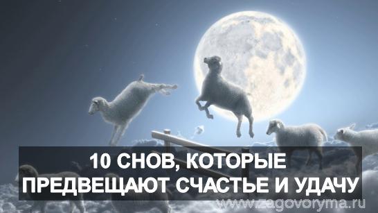 10 снов, которые предвещают счастье и удачу