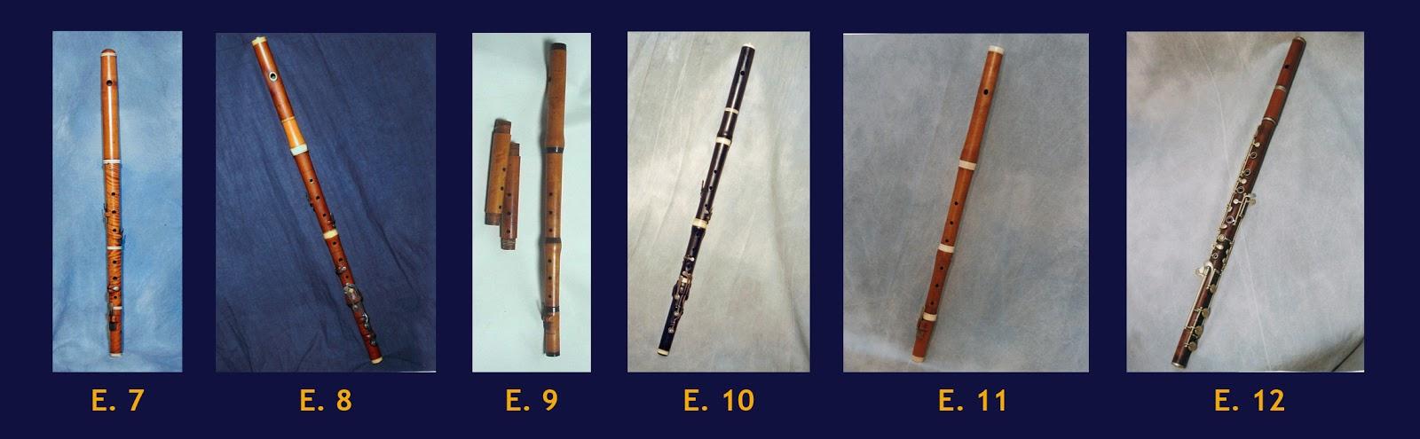 Datazione di un clarinetto a buffet