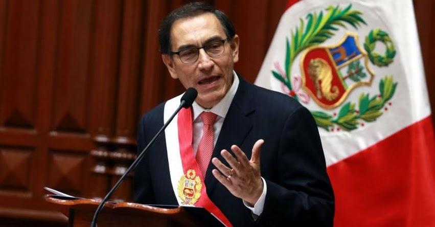 MENSAJE PRESIDENCIAL: Texto completo del Primer Mensaje a la Nación del Presidente Martín Vizcarra (23 Marzo) DESCARGAR .PDF [VIDEO]