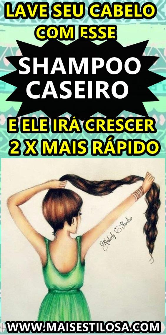 shampoo para crescimento do cabelo caseiro como fazer