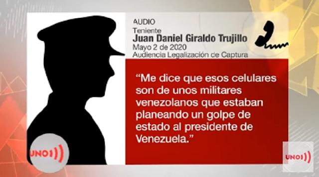 Teniente Colombiano revela que su Gobierno sabía de la operación gedeon contra Venezuela