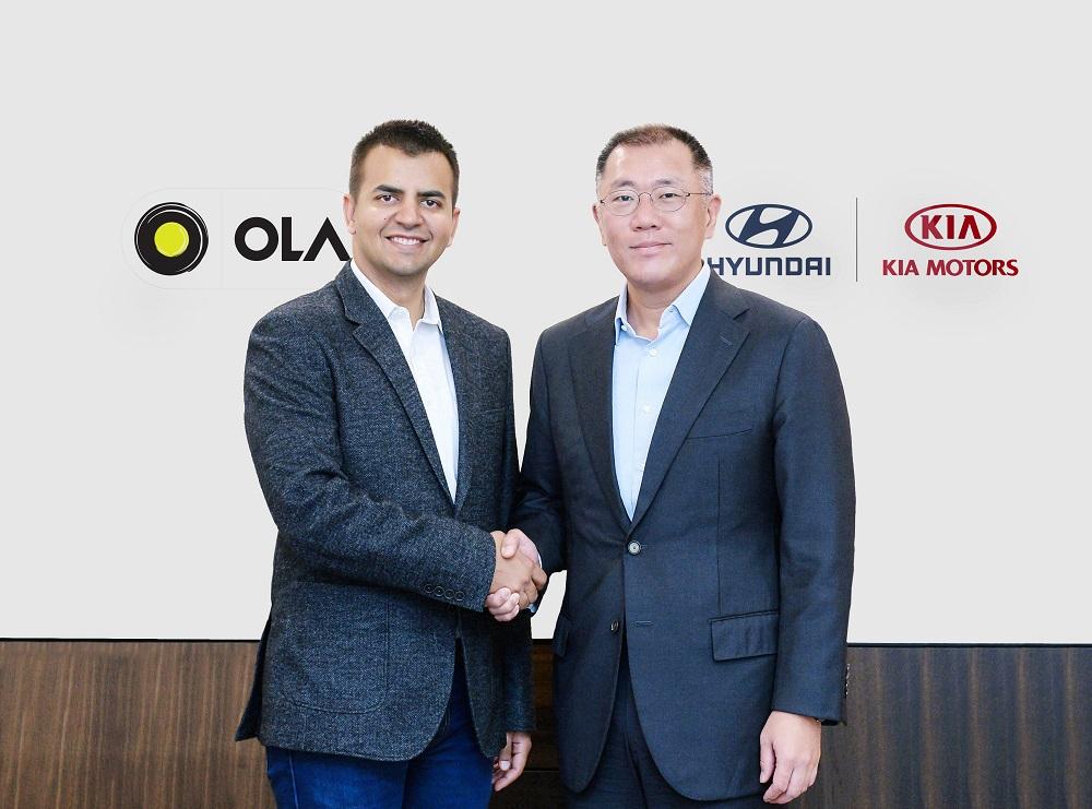 Hyundai and Kia invest $300 million in India's Ola