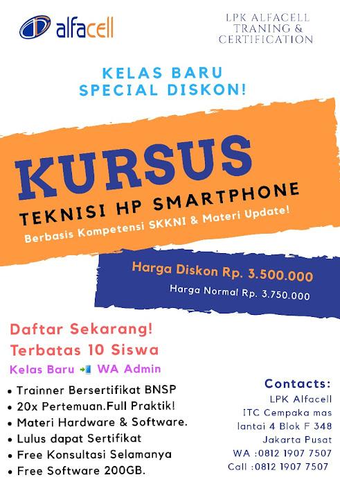 Kursus Teknisi HP Jakarta